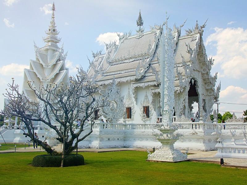 Weißer Tempel Chiang Rai