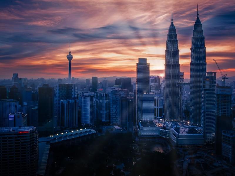 Skyline von Kuala Lumpur
