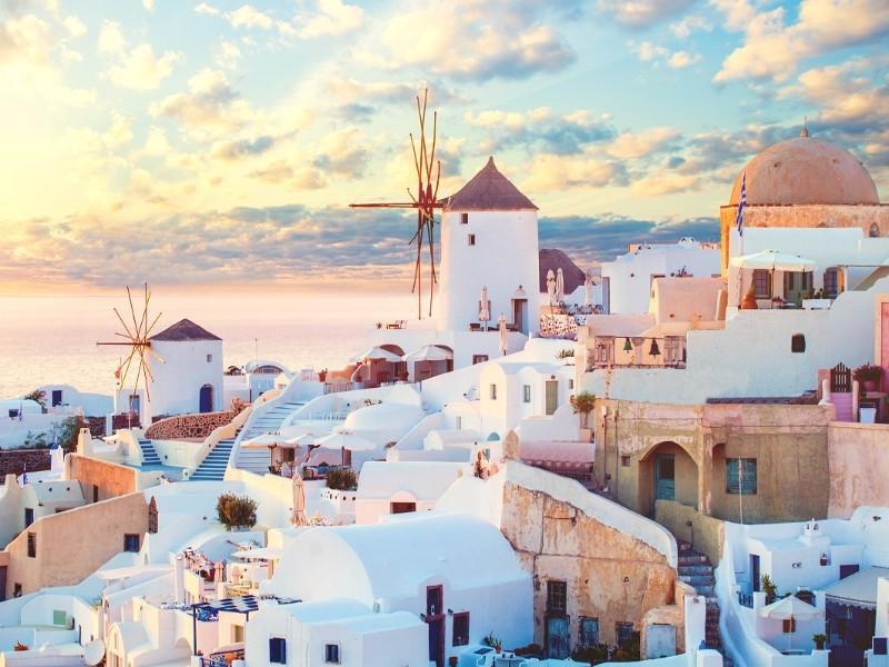 Traumhafte Kykladen - Paros, Santorin, Naxos & Mykonos