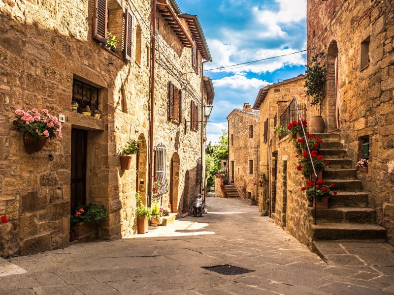 Italien - Toskana - Buonconvento