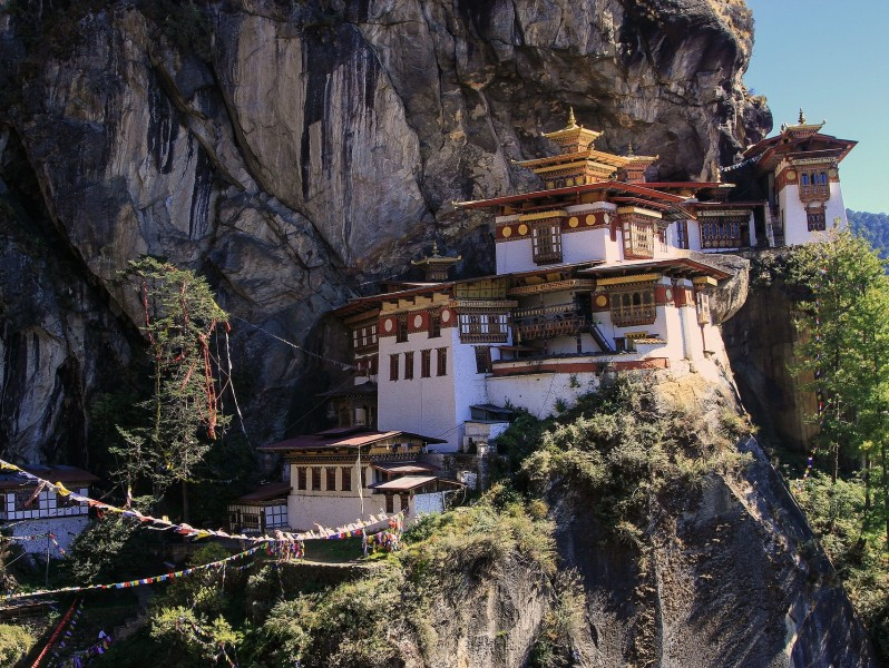 Takshang, das Tigernest-Kloster