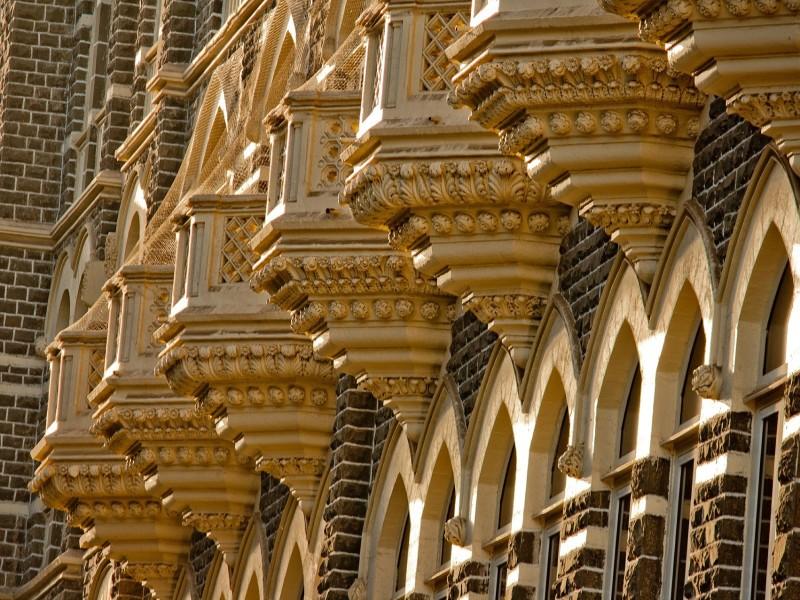 Koloniale Bauten in Mumbai
