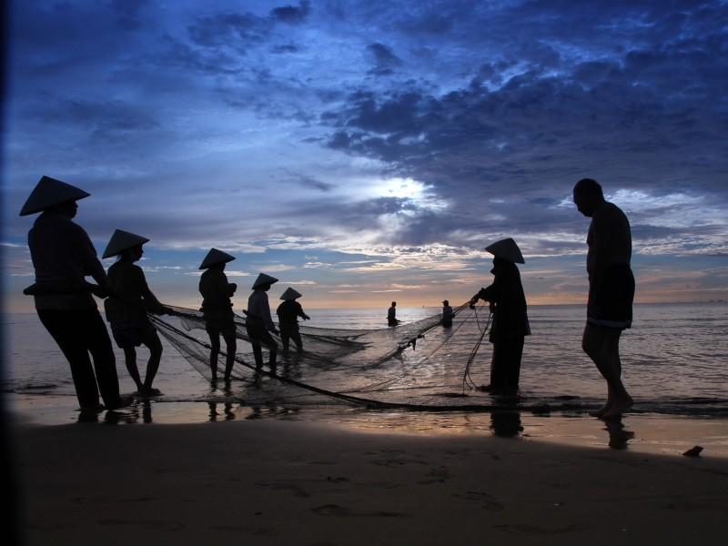 Vietnam & Kambodscha & Strand in Phan Thiet