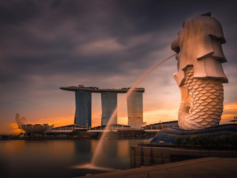 Merlion von Singapur