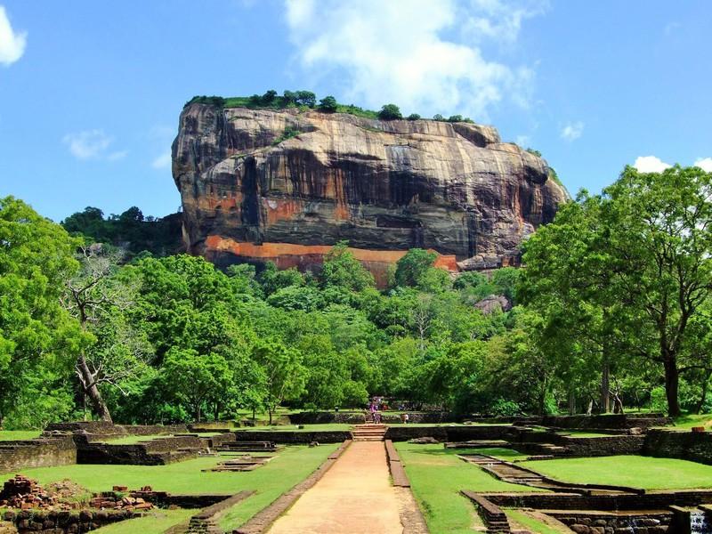 Der Felsen von Sigiriya