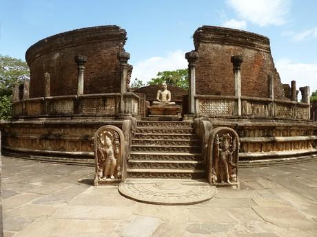 Die Ausgrabungen von Polonnaruwa