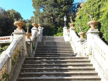 Italien - Triest - Schlosstreppe