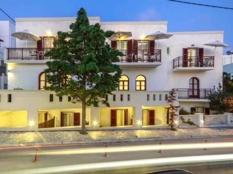 greiechenland-naxos-hotel aeolis-fassade