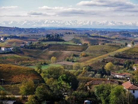 Italien - Piemont - Panorama