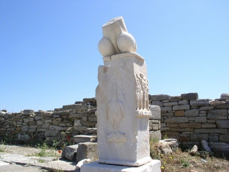 griechenland-kykladen-delos-antike ruine