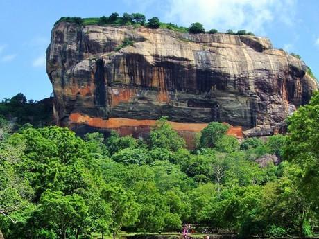 Der Löwenfelsen von Sigiriya