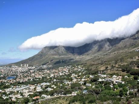 Tafelberg und Kapstadt