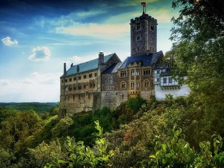 Malerische Wartburg, Eisenach