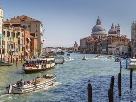 Italien - Venedig - Canal Grande