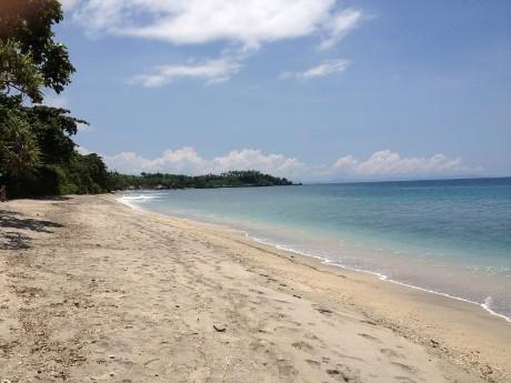 Strand auf Lombok