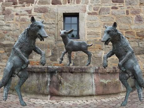 Brunnen in Wolfhagen