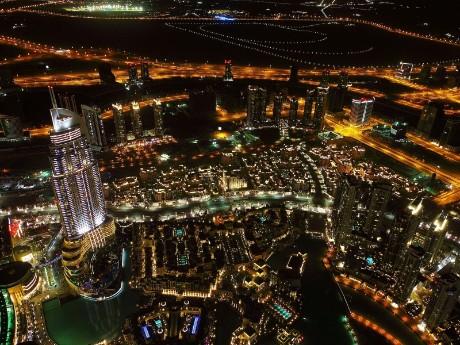 Luftbild Dubai Downtown