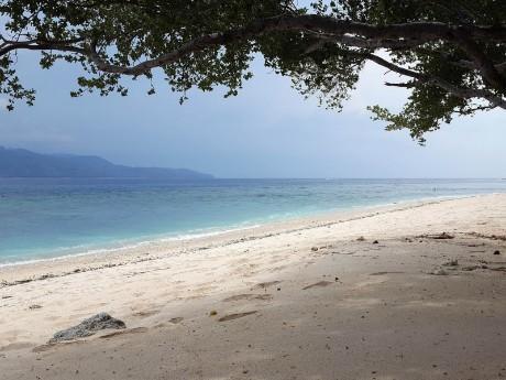 Strand auf Gili