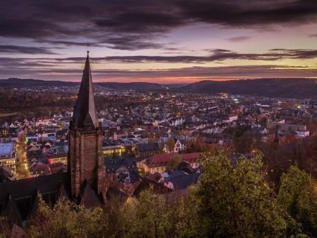 Panorama von Marburg