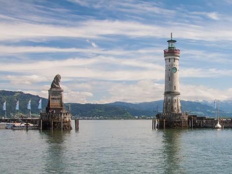 Leuchtturm, Lindau, Bodensee