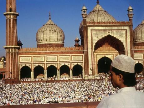 Jama Majid Moschee, Delhi