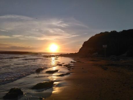 Italien - Latium - Sonnenuntergang
