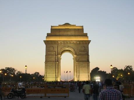 Aufenthalt in New Delhi