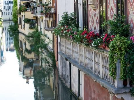 Italien - Padova - Häuserfassade