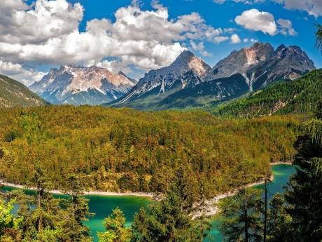 Zugspitze im Sommer