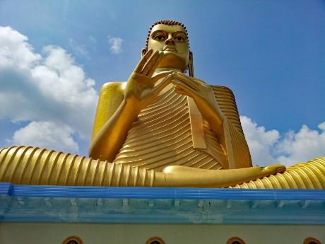 Goldener Buddha, Tempel von Dambulla