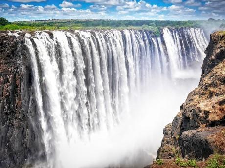 Majestätische Victoria Falls