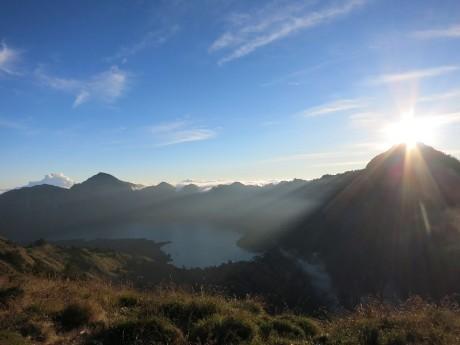 Vulkan Rinjani auf Lombok